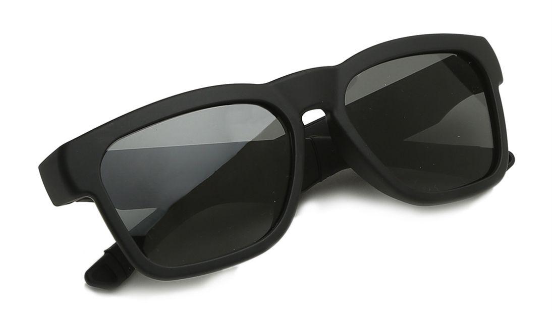 Smart Audio Black Square Fastrack Unisex Sunglasses